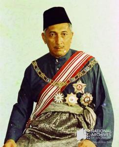 Portrait photograph of President Yusof Ishak, late 1960s