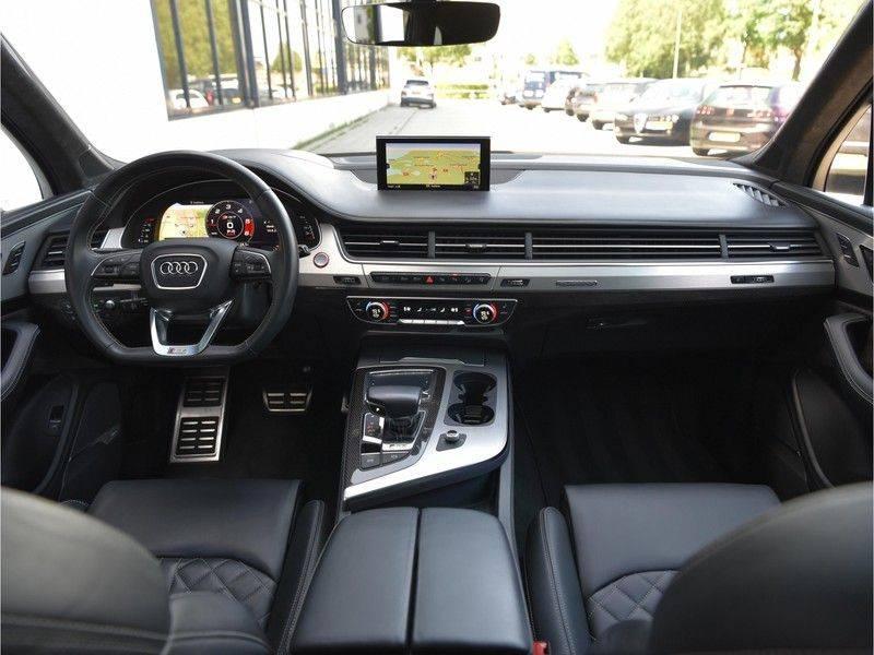 Audi SQ7 4.0TDI Quattro S-Line Individual Lucht Softcl Standk HUD M-Led Rauten Bose Alcant-hemel Leder-Dash afbeelding 15