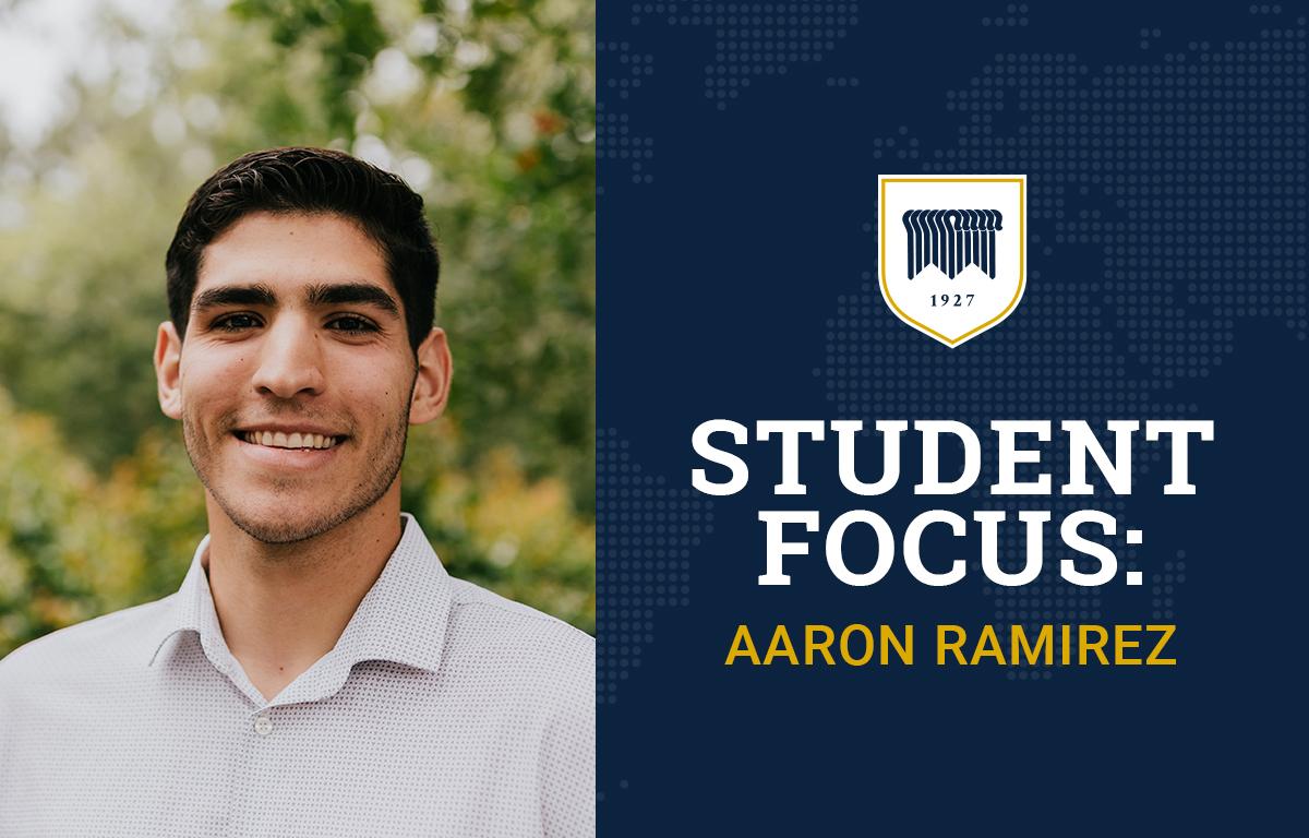 Student Focus: Aaron Ramirez image