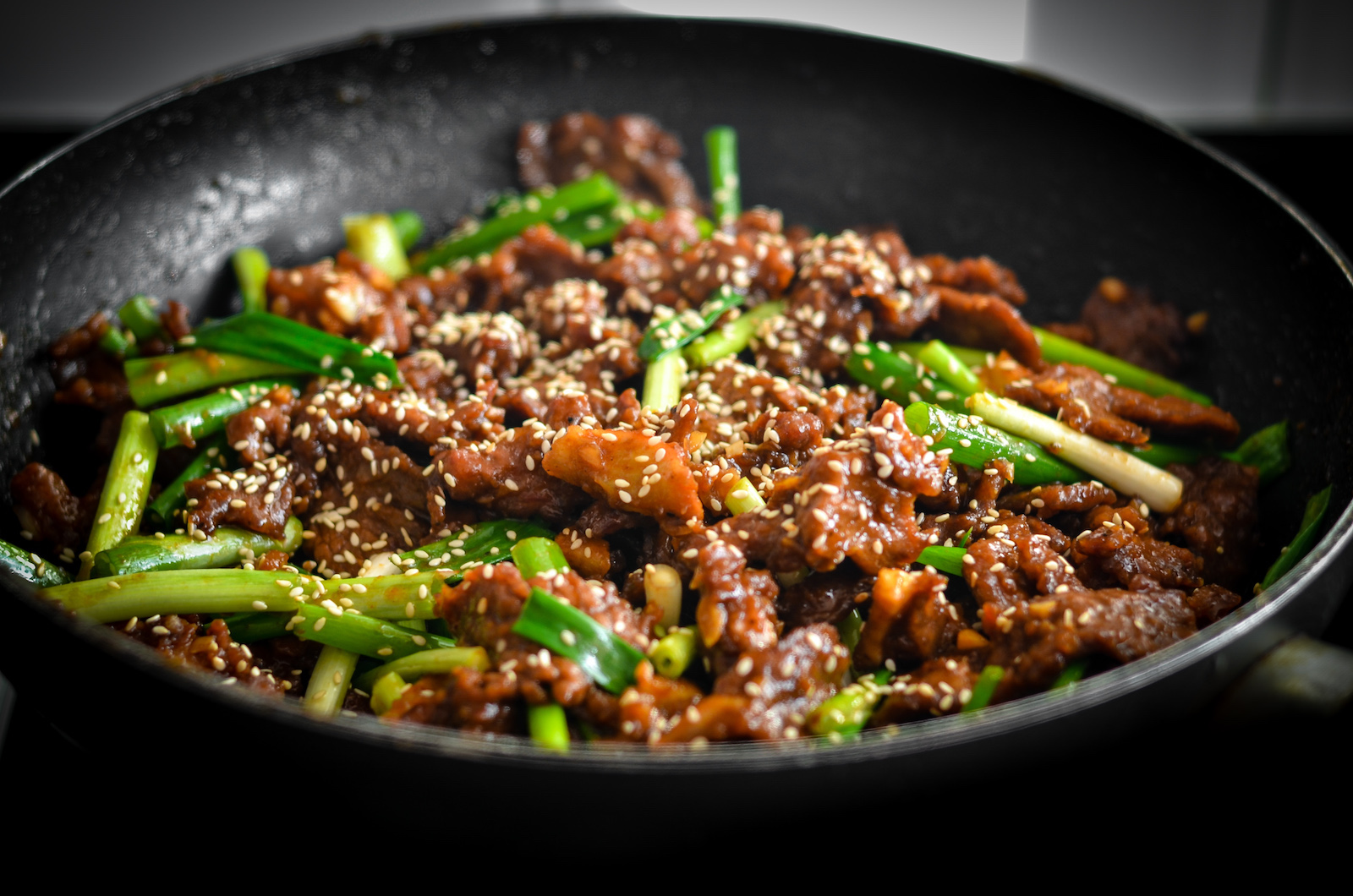 cover photo: Mongolian Beef