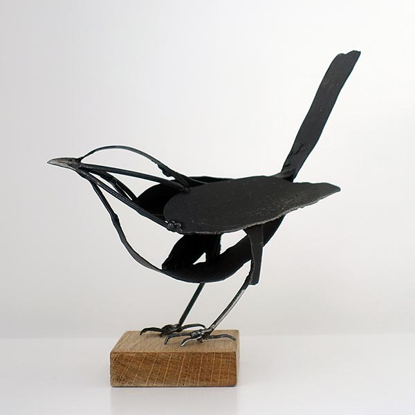 Blackbird painted steel/stainless steel