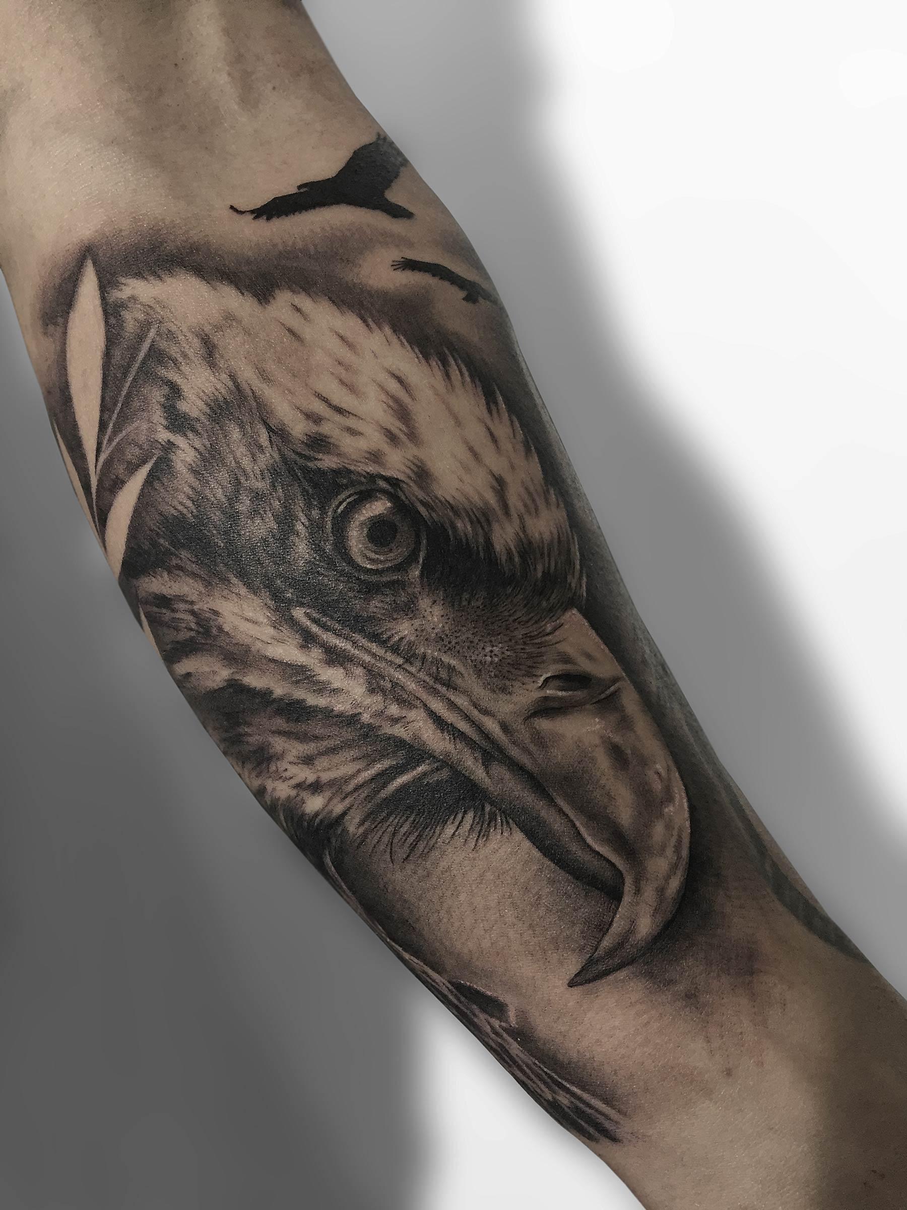 tatuaje aguila