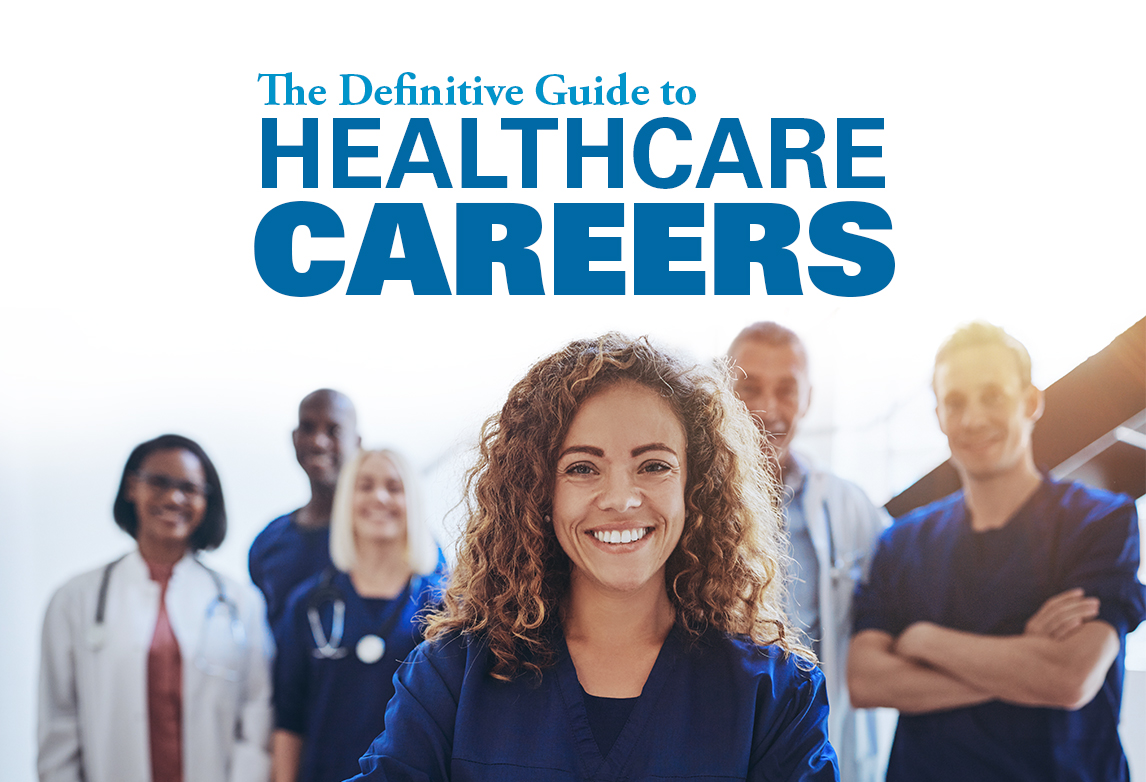 Ultimate Medical Academy Healthcare Career Guide cover.
