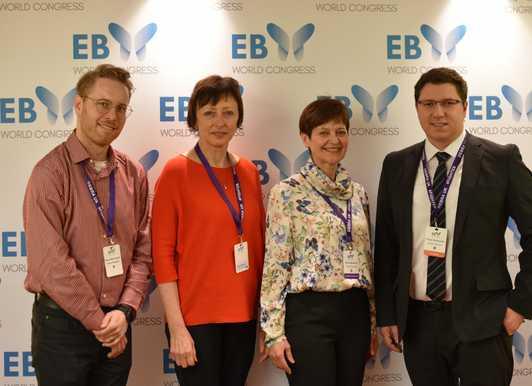 EB Centrum FN Brno a 1. Světový kongres o EB v Londýně