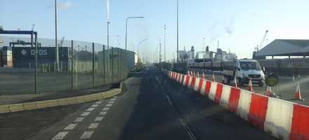 Evo Water Filled Barriers for Shipping Port – Lincolnshire
