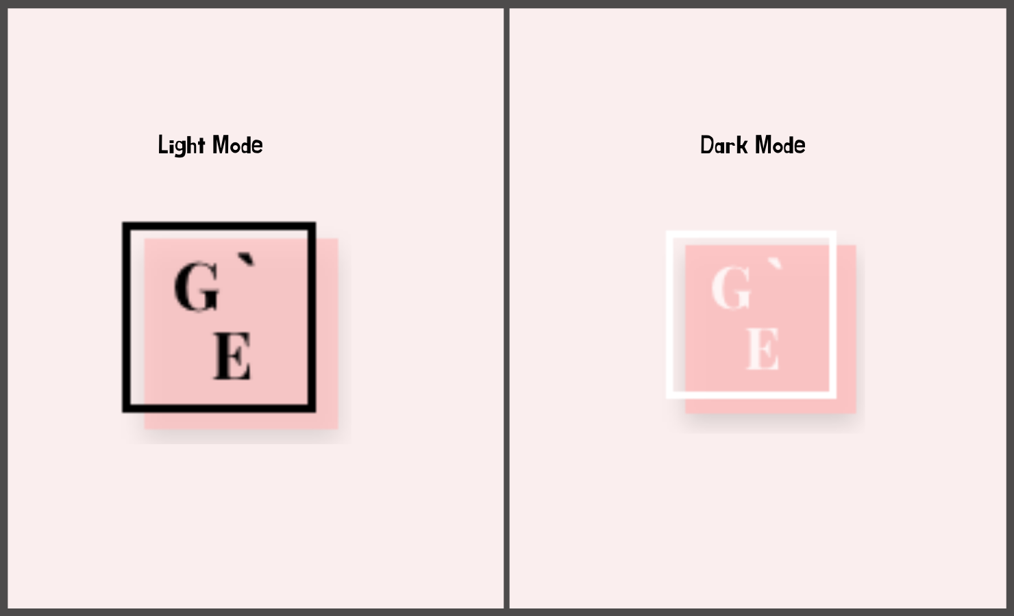 Light and Dark Logo Grid