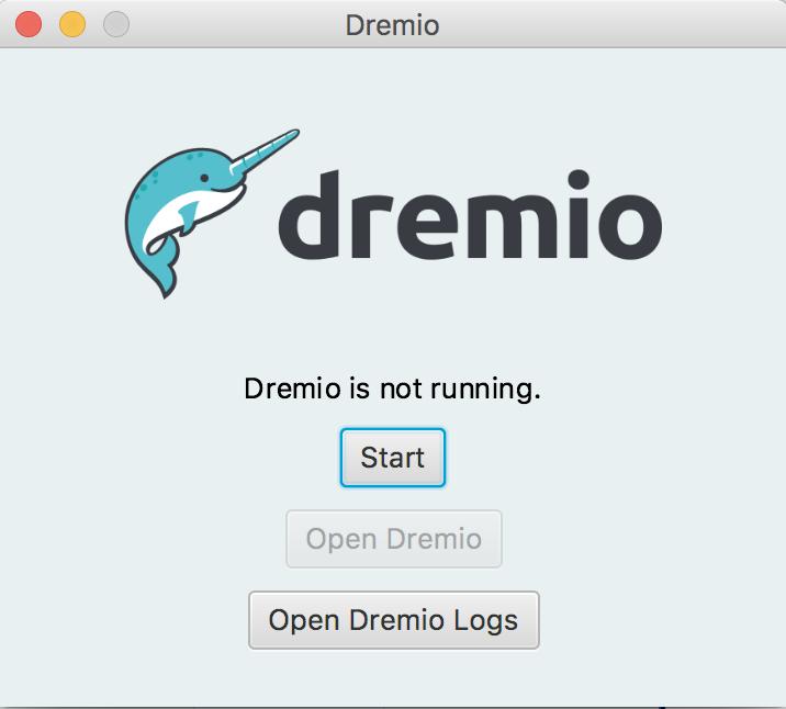 Dremio launcher application