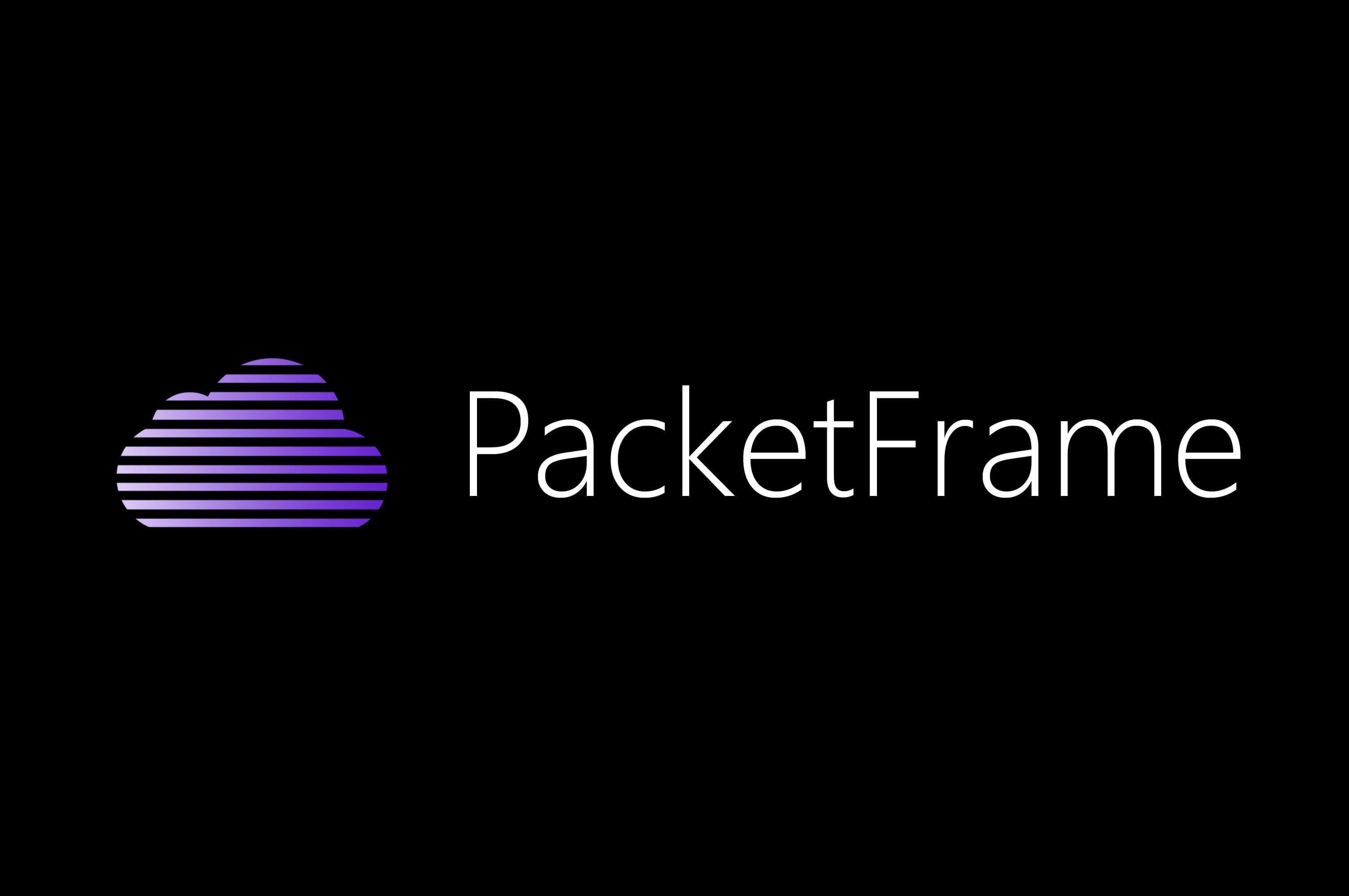 Thumbnail for Featured Sponsor - Packetframe