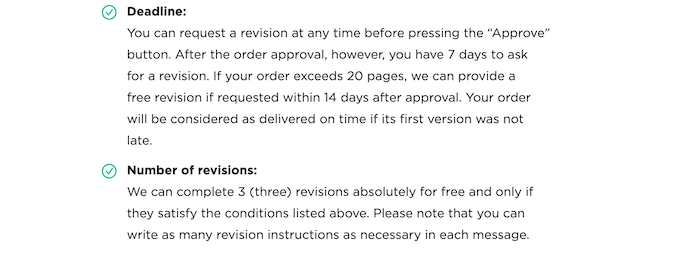 revision policy at writemyessays.net