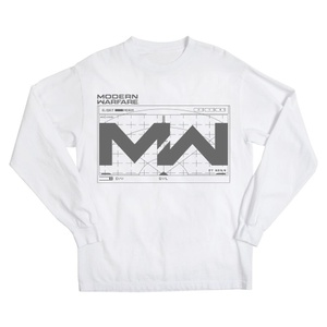 Call of Duty Modern Warfare White Sweatshirt