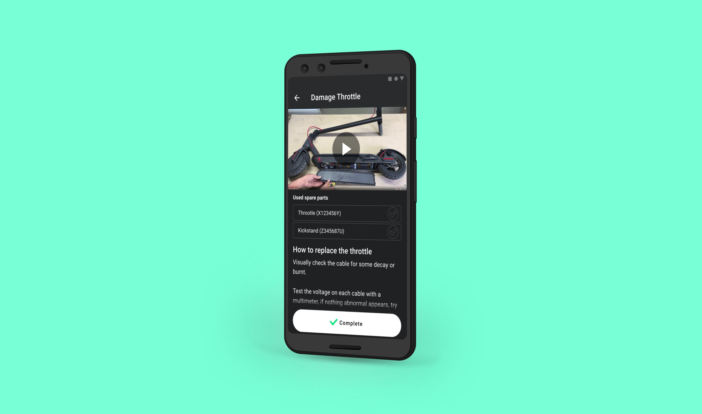 App screenshot for Serveedo 1