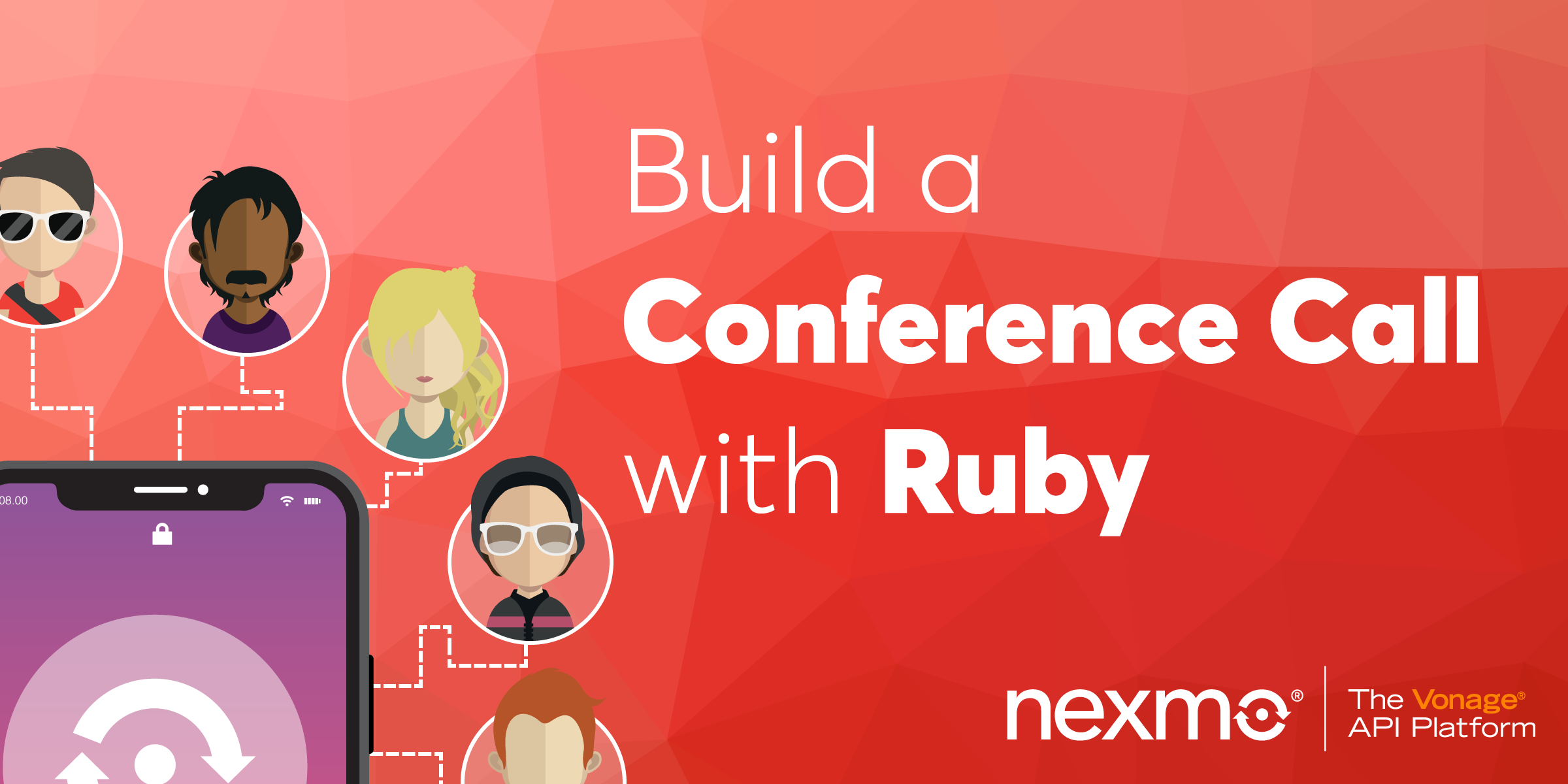 Build a Conference Call with the Nexmo Voice API and Ruby on Rails