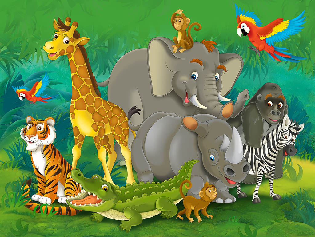 Animals from the zoo: The Great Escape - A story for kids