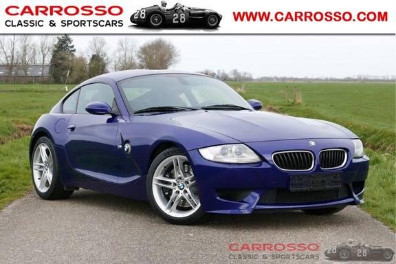 """BMW Z4 Coupé 3.2 M Xenon, 18""""LM, 65.683 km, Interlagos Blauw-Metallic"""