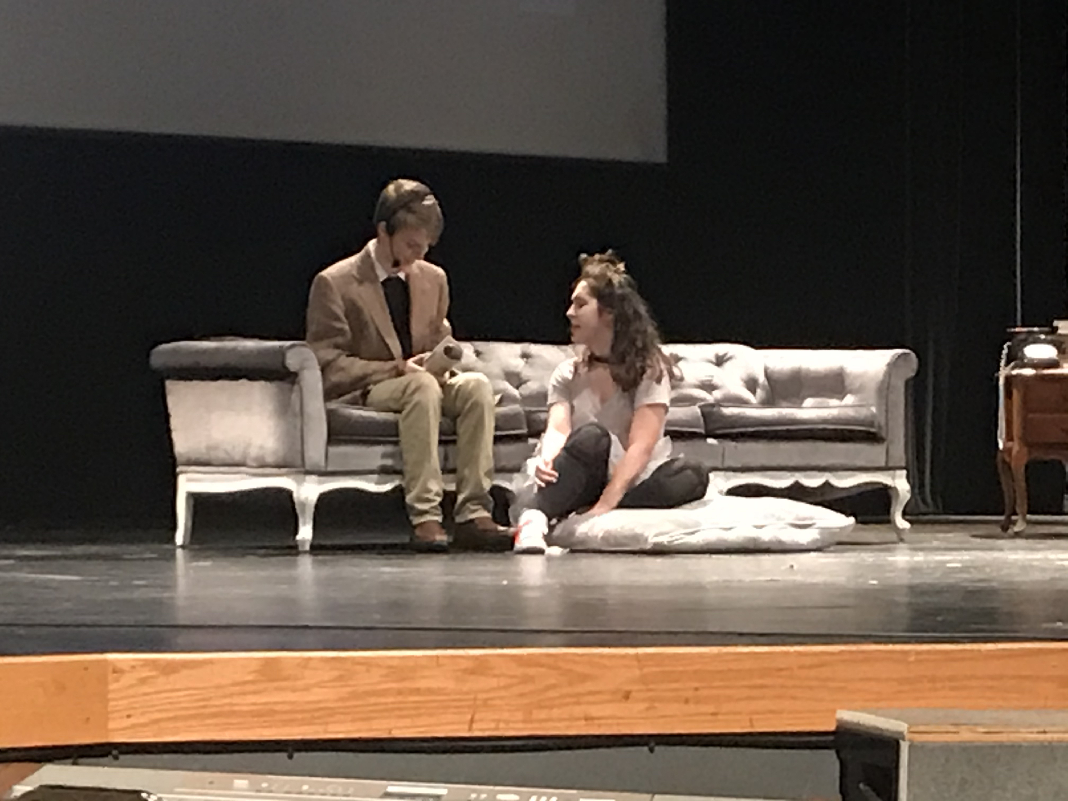 Image of: Charlie and Ceanna on stage at Sylvia!