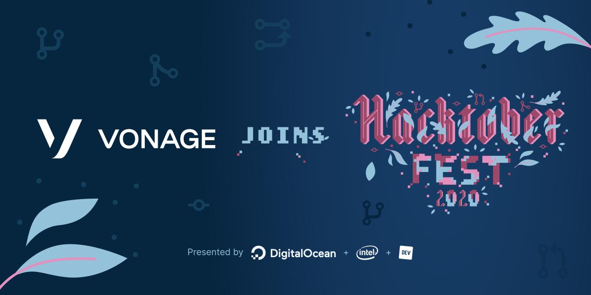 Vonage Joins Hacktoberfest 2020