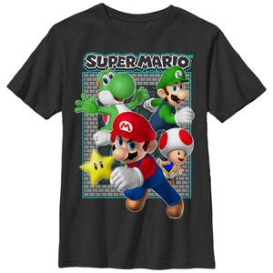 Mario Brick Frame - T Shirt