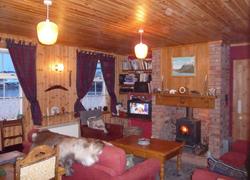 Shetland cottage - sitting room