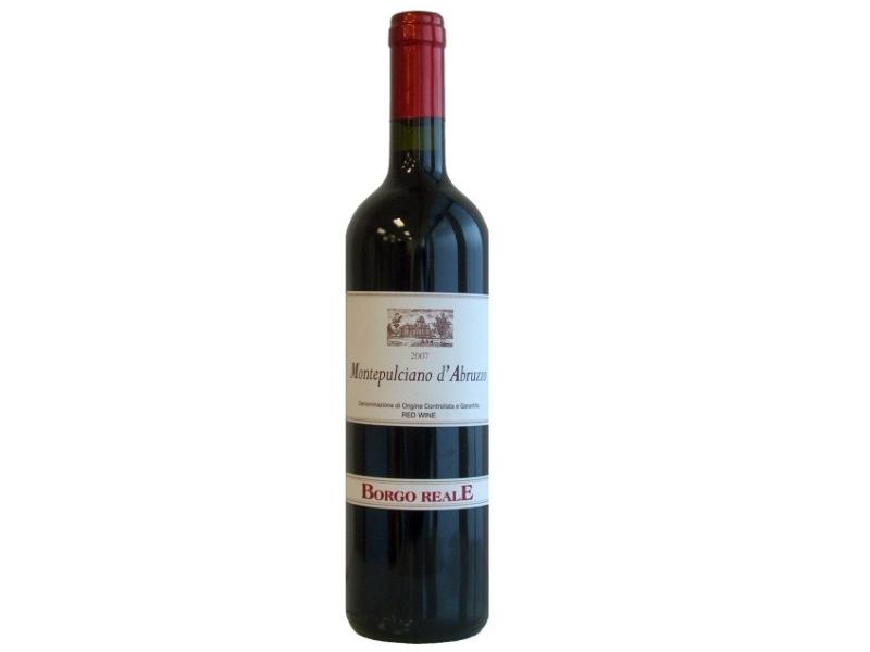 Borgo Reale Mantepulciano d' Abruzzo Red Wine (750ml)