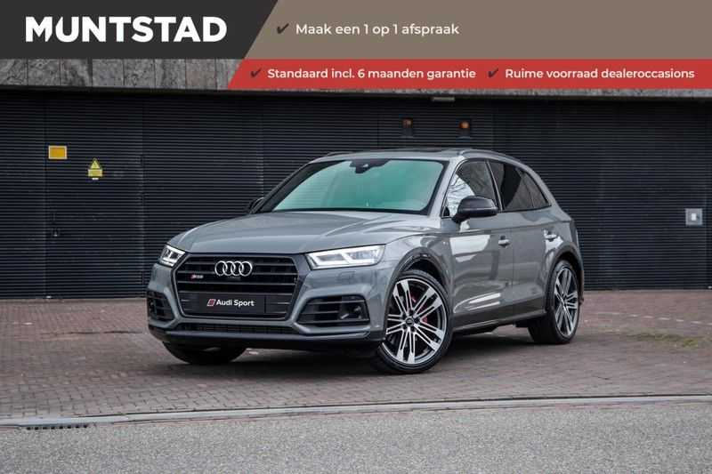 Audi Q5 3.0 TFSI SQ5 quattro | 354 PK | B&O Sound | Air suspension | Pano.Dak | Assistentie City-Tour-Parking | Trekhaak | Head-UP | Full Option |
