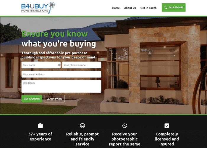B4UBUY Home Inspections screenshot