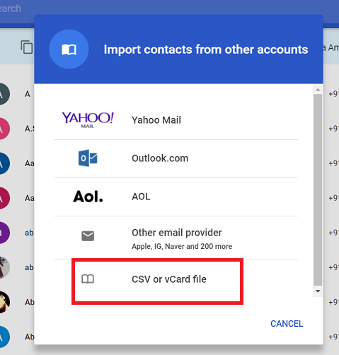 How To Transfer Contacts From iPhone To Samsung - Covve