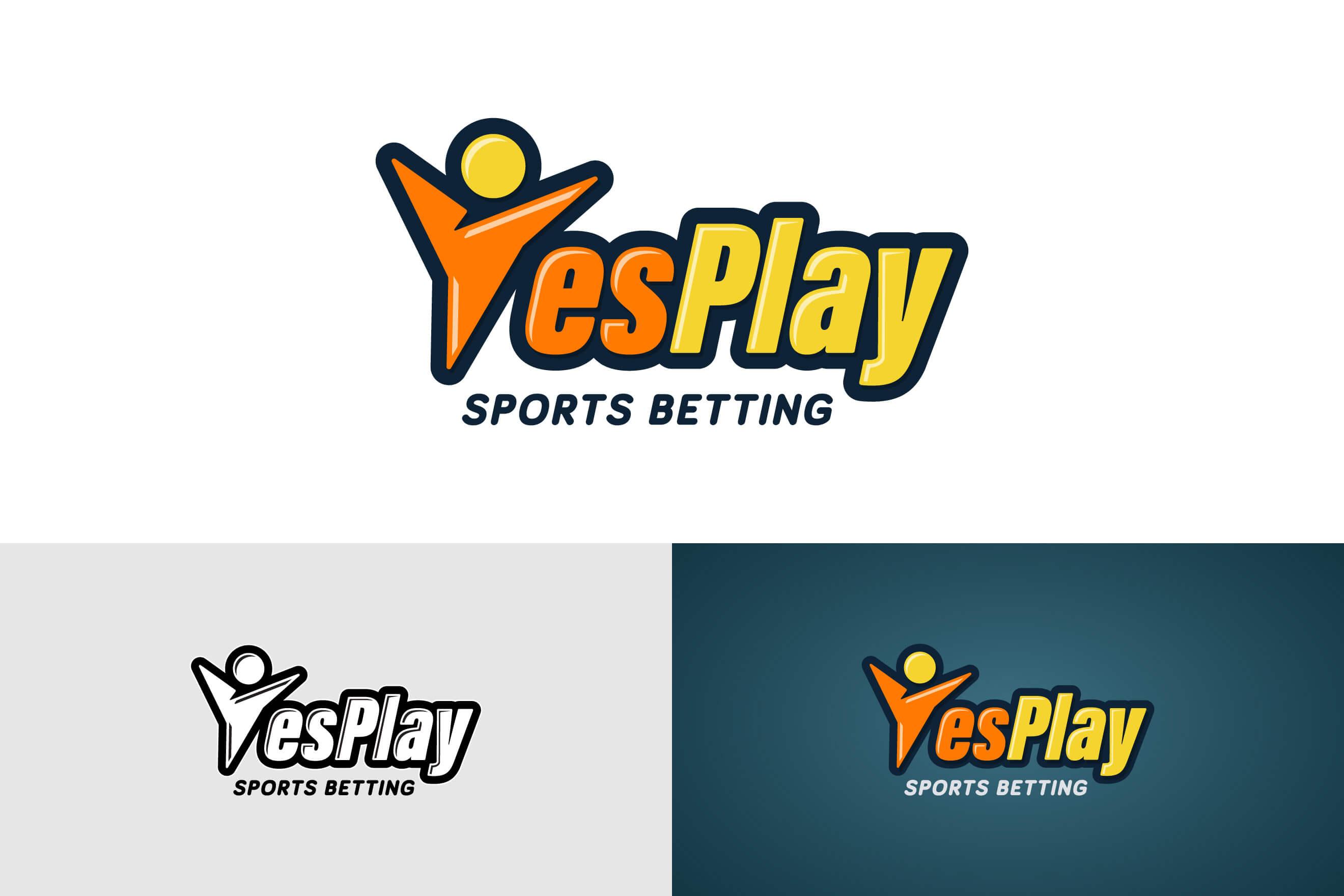 logo design for YesPlay Sports Betting