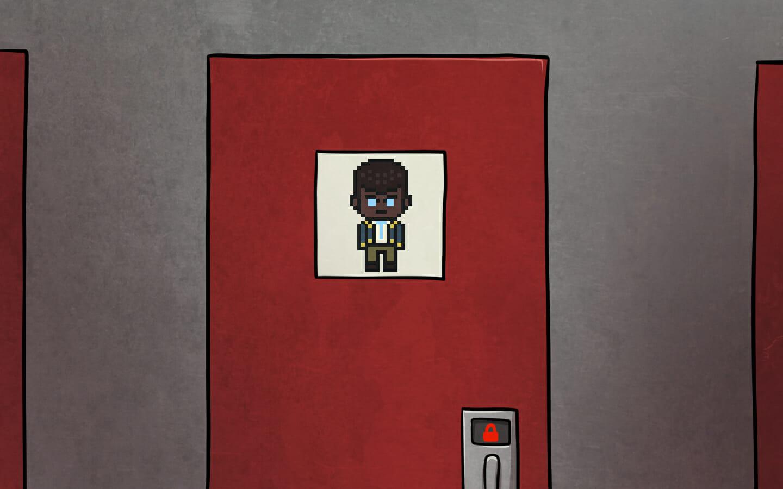 Siegfried's door.