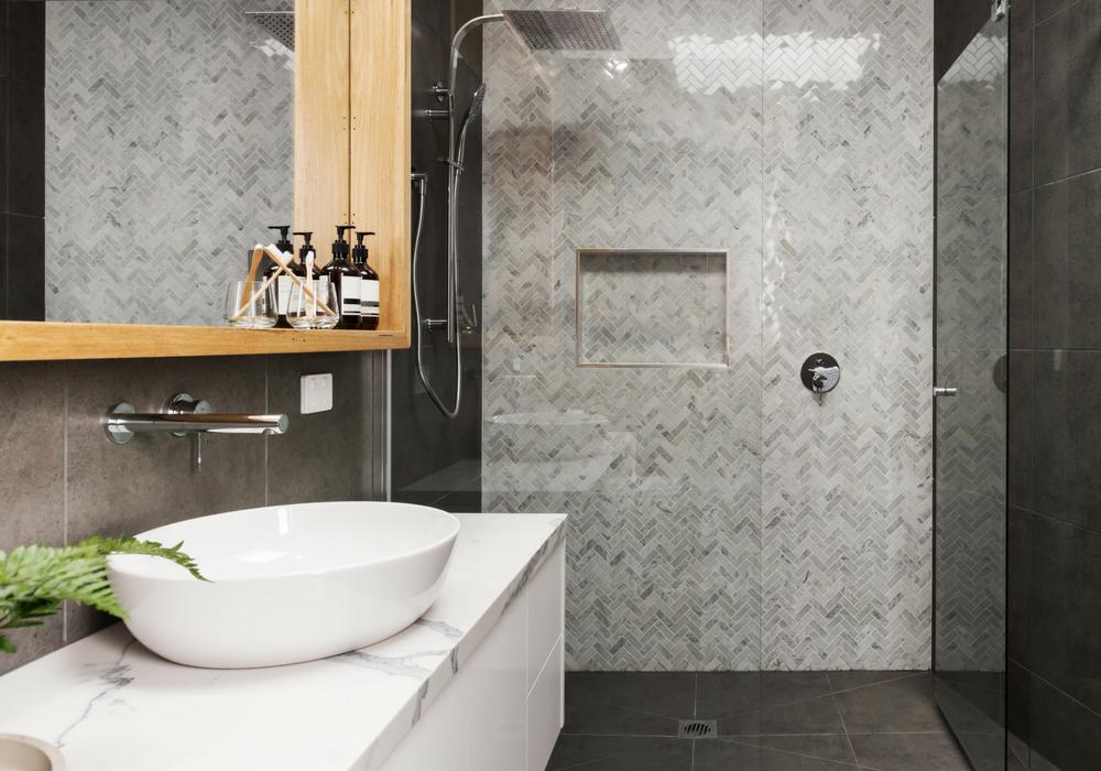 image of zero transition shower