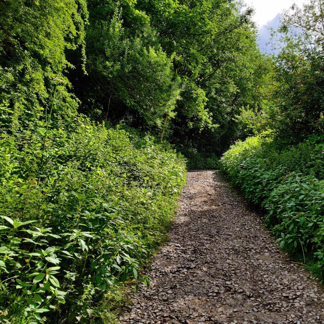 Armley Park footpath