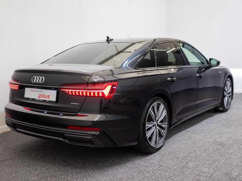 Audi A6 55 TFSI e quattro Competition Plug in Hybrid | 367PK | S-Line | B&O Sound | Nachtzicht | Camera | Adapt.Cruise | Head-Up | Trekhaak | Full Option | afbeelding 8