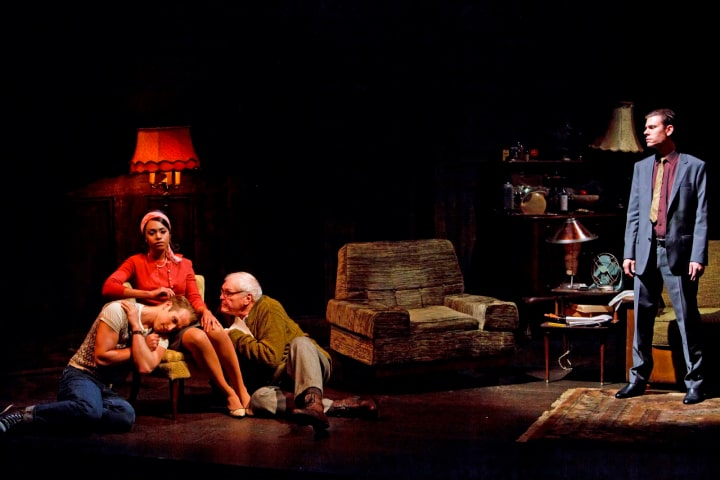 """Robert Thomson's lighting design for the production of """"The Homecoming"""" at the Stratford Festival"""