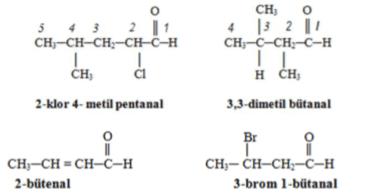 Karbonil Bileşikleri: Aldehitler