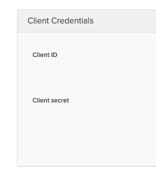Okta client ID and secret
