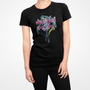 Hatsune Miku Girls Black T-Shirt
