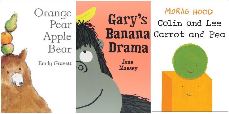 Orange Pear Apple Bear, Gary's Banana Drama, Colin and Lee: Carrot and Pea