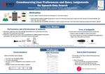 Crowdsourcing User Preferences and Query Judgments for Speech-Only Search