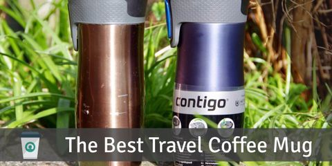 The Contigo travel mug delivers great performance and quality on a budget. It keeps your beverage hot up to 5 hours, and cold for about 12 hours.