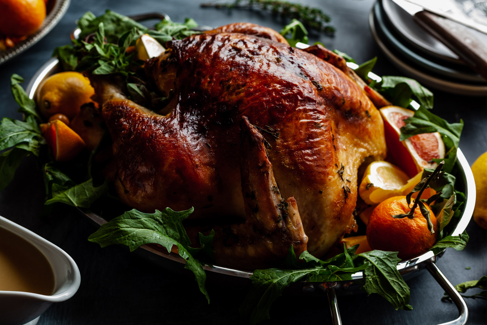 Citrus Herb And Butter Turkey