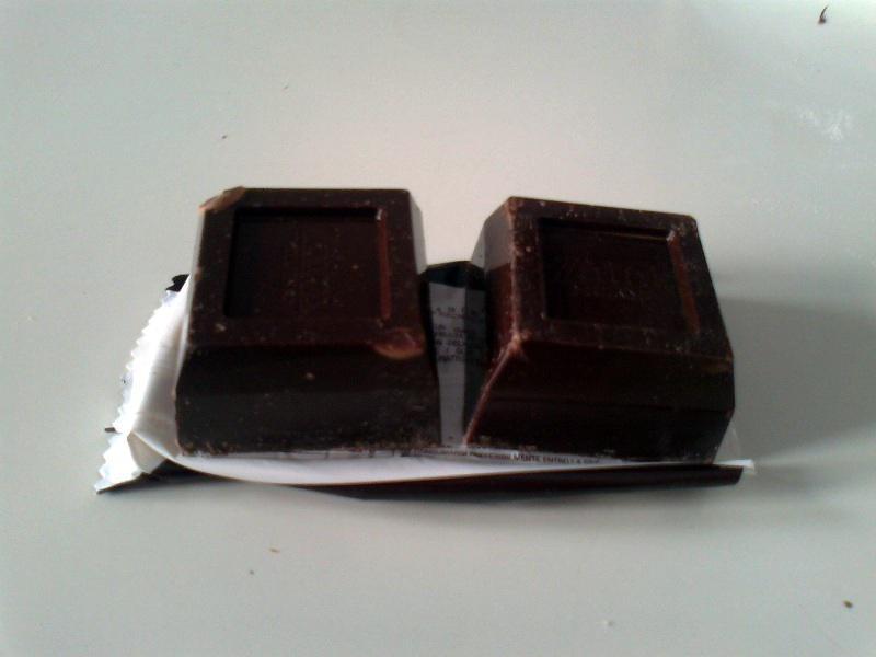 • Il cioccolato fondente