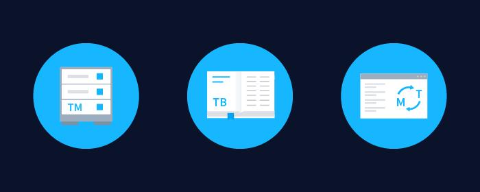 Translation management system features