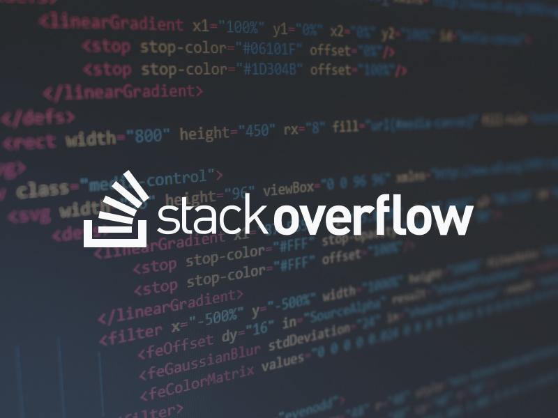 Stack Overflow decorative graphic.