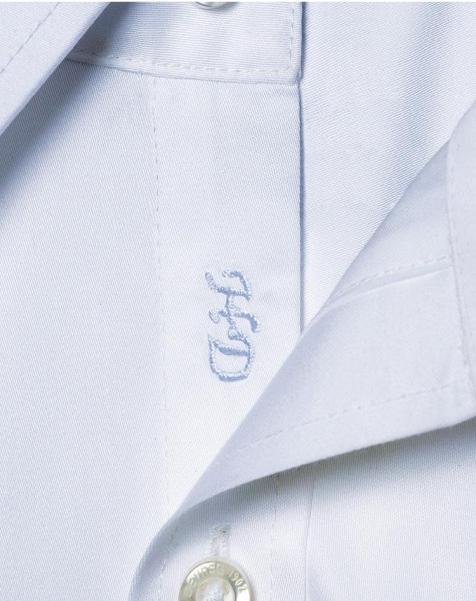 Vos initiales sur chemises messieurs