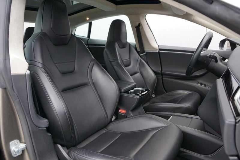 "Tesla Model S 90D Base / 422 PK / Panoramadak / Luchtvering / NL-Auto / 132dkm NAP / 21"" LMV / Leder afbeelding 4"