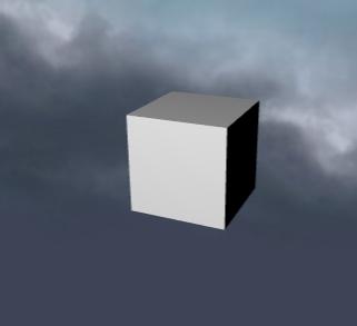 Box and sky
