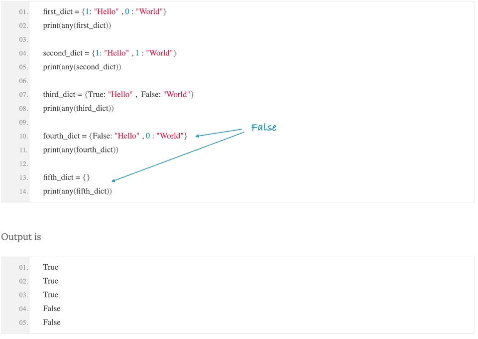 python check any inside iterable true