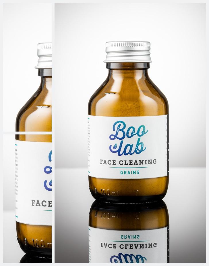 Boolab prah za umivanje (Face Grains) u originalnoj ambalaži.