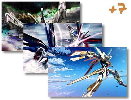 Gundam Seed and Destiny theme pack