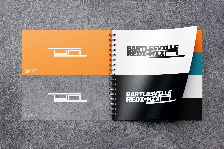 The conceptual brand book of Bartlesville Redi-Mix