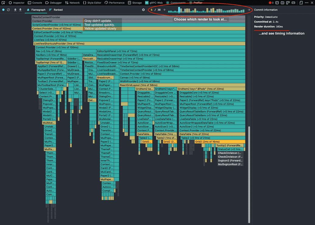 Open the dev tools, go to the new Profiler tab, and click the record icon in the top left.